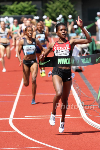 Faith Kipyegon - Prefontaine Classic - PhotoRun.net